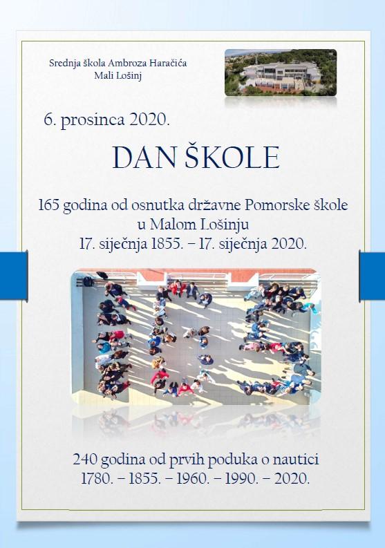 6. prosinca – Dan škole 2020.